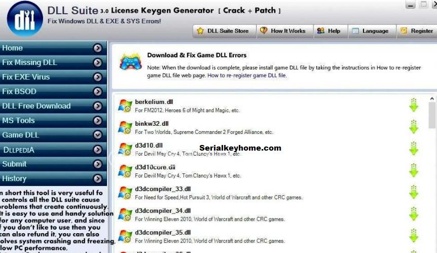 DLL Suite key