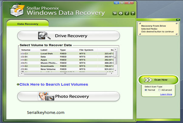 stellar phoenix data recovery Key