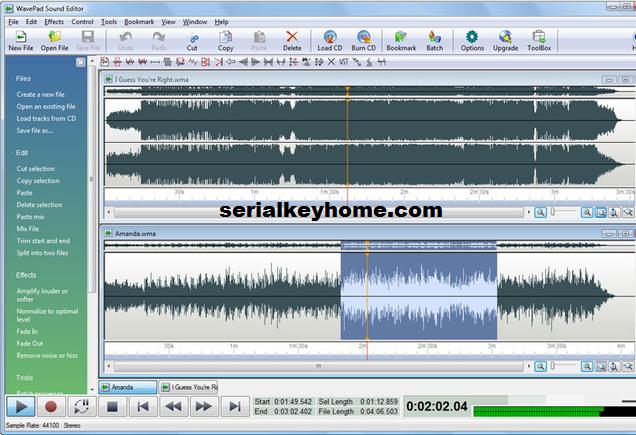 WavePad Audio Editor Key