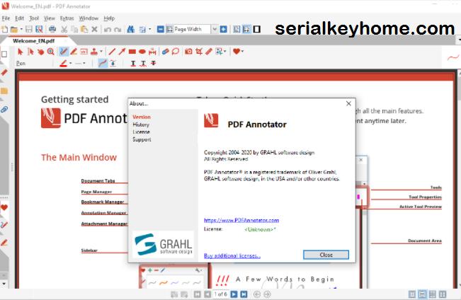 PDF Annotator Key